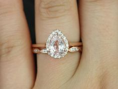Rose gold solitaire ring for wedding 29