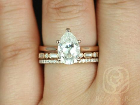 Rose gold solitaire ring for wedding 50