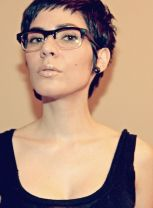 Short hair pixie cut hairstyle with glasses ideas 23