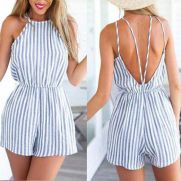 Summer casual backless dresses outfit style 21