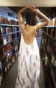 Summer casual backless dresses outfit style 24