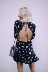 Summer casual backless dresses outfit style 76