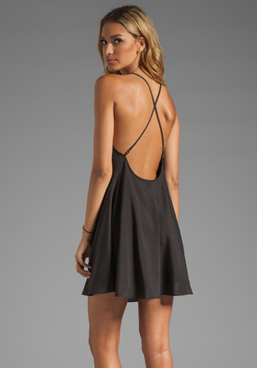 Summer casual backless dresses outfit style 87