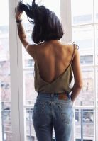 Summer casual backless dresses outfit style 95