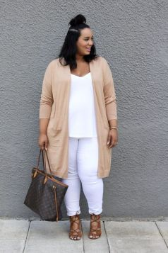 Summer casual work outfits ideas for plus size 13