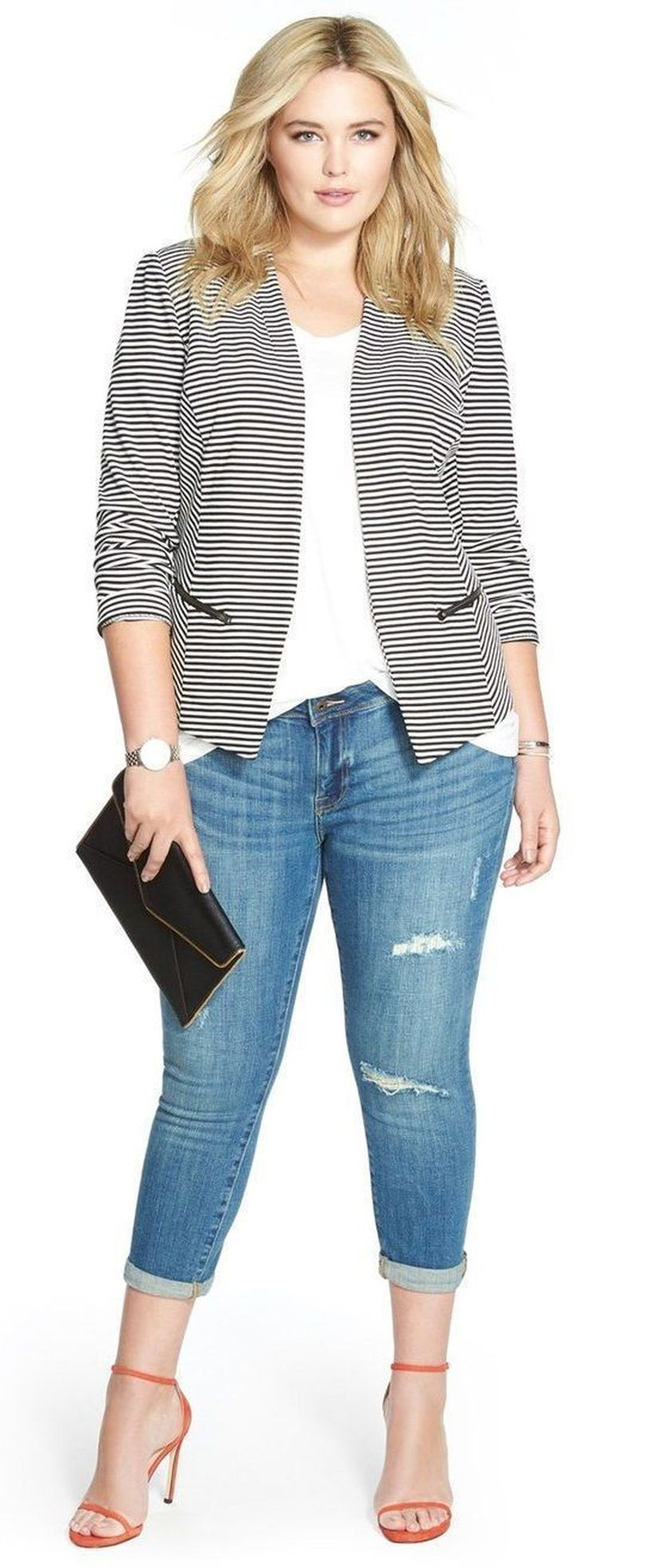 Summer casual work outfits ideas for plus size 14