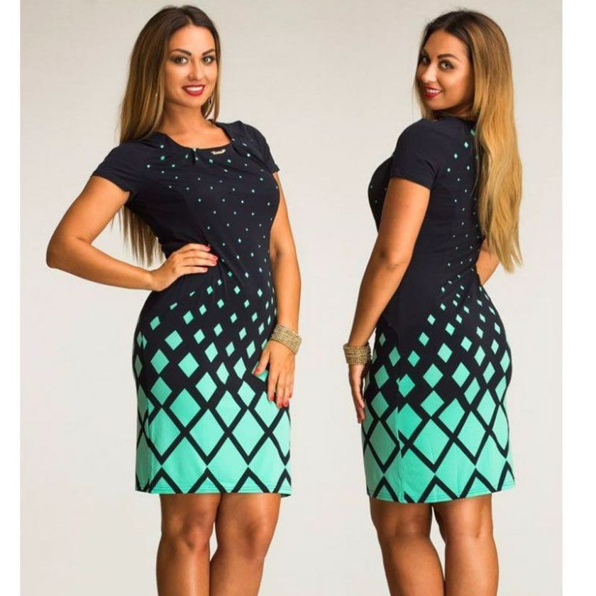 Summer casual work outfits ideas for plus size 17