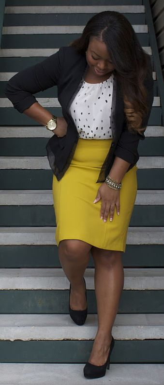 Summer casual work outfits ideas for plus size 19