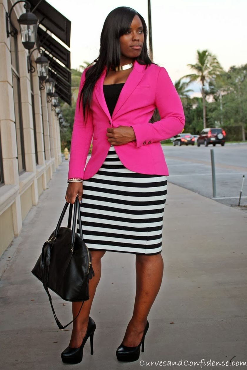 Summer casual work outfits ideas for plus size 23