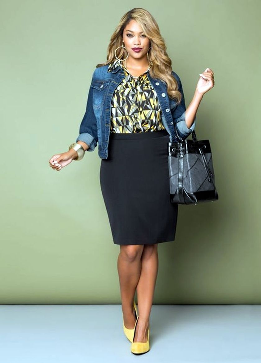 Summer casual work outfits ideas for plus size 39