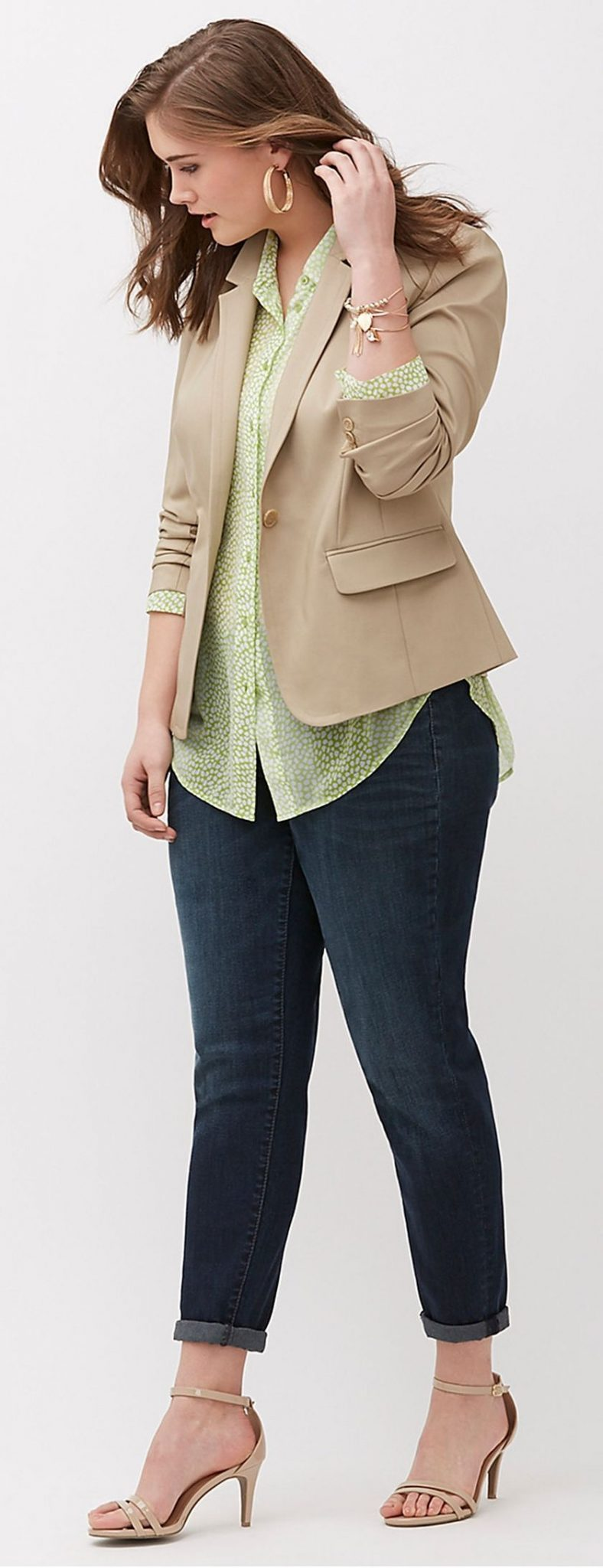Summer casual work outfits ideas for plus size 49
