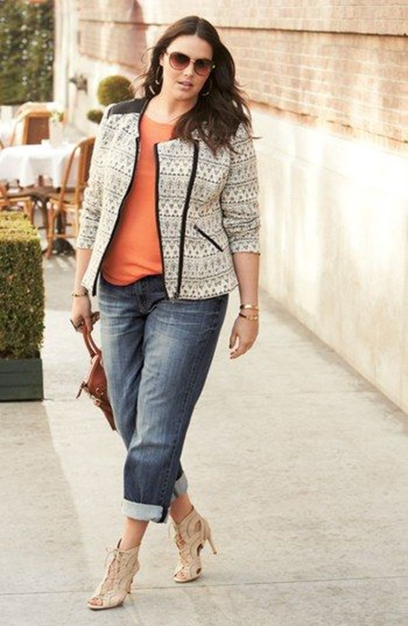 Summer casual work outfits ideas for plus size 74