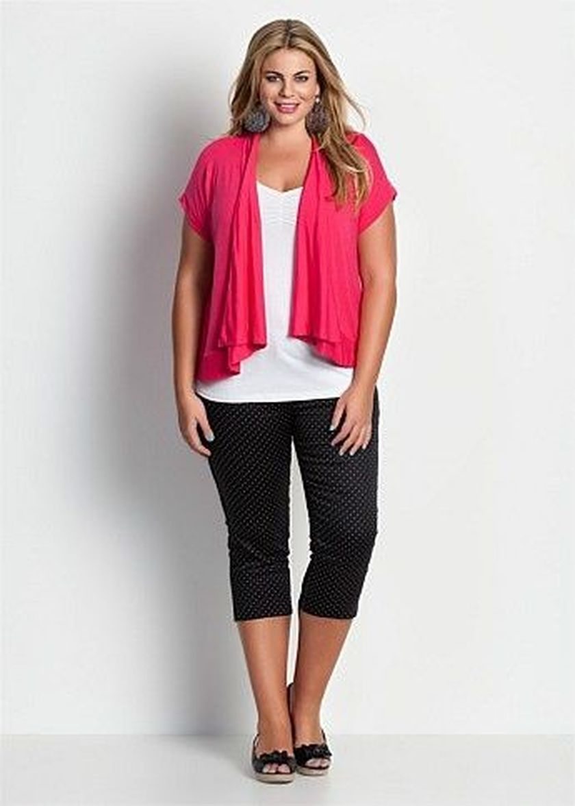 Summer casual work outfits ideas for plus size 75 ...