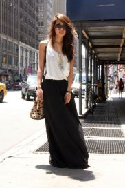 Summers casual maxi skirts ideas 16