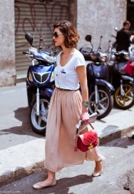 Summers casual maxi skirts ideas 18