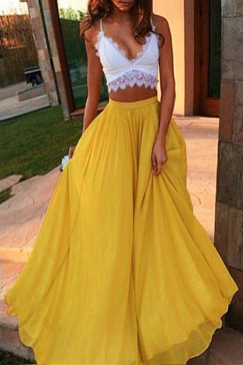 Summers casual maxi skirts ideas 20