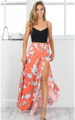 Summers casual maxi skirts ideas 31
