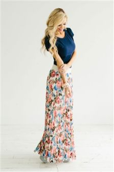 Summers casual maxi skirts ideas 37
