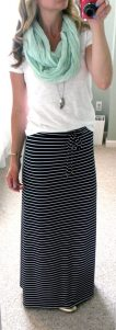 Summers casual maxi skirts ideas 6