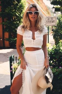 Summers casual maxi skirts ideas 63