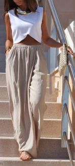 Summers casual maxi skirts ideas 72