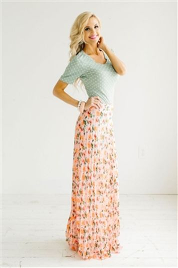Summers casual maxi skirts ideas 79