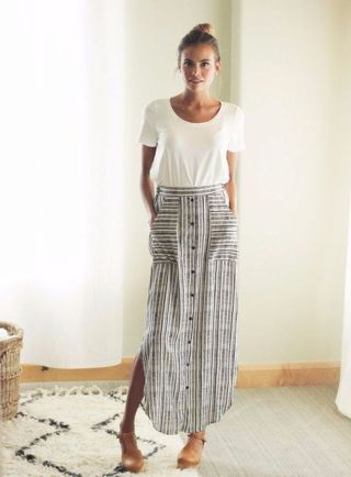 Summers casual maxi skirts ideas 87