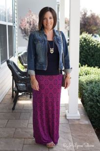 Summers casual maxi skirts ideas 90