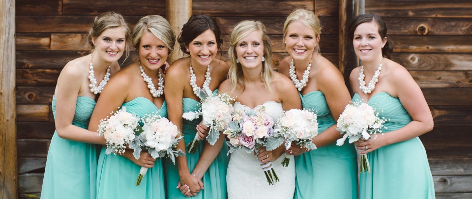 Turquoise bridesmaid dress featured 2