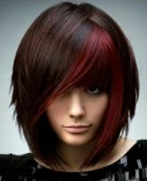 Awesome full fringe hairstyle ideas for medium hair 13
