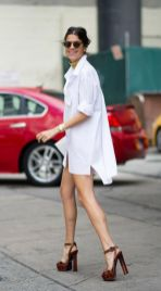 Awesome oversized white shirt outfit style ideas 11