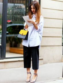 Awesome oversized white shirt outfit style ideas 28