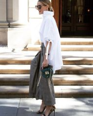 Awesome oversized white shirt outfit style ideas 31