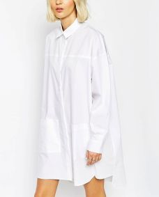 Awesome oversized white shirt outfit style ideas 36