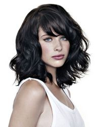 Beautiful curly layered haircut style ideas 34