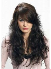 Beautiful curly layered haircut style ideas 43