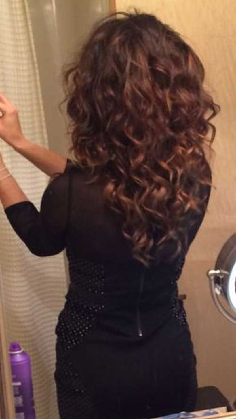 Beautiful curly layered haircut style ideas 97