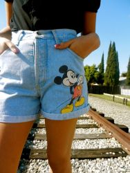 Best high waisted short denim outfits style 40