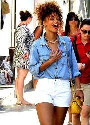 Best high waisted short denim outfits style 42