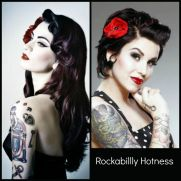 Breathtaking vintage rockabilly hairstyle ideas 115