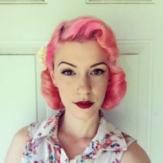 Breathtaking vintage rockabilly hairstyle ideas 15