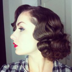Breathtaking vintage rockabilly hairstyle ideas 25