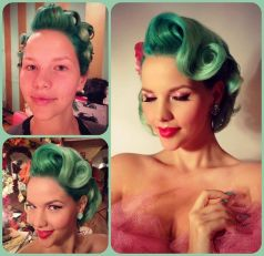 Breathtaking vintage rockabilly hairstyle ideas 3