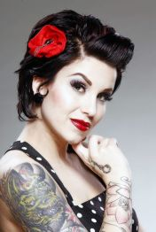 Breathtaking vintage rockabilly hairstyle ideas 53