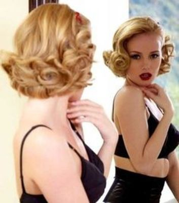 Breathtaking vintage rockabilly hairstyle ideas 60