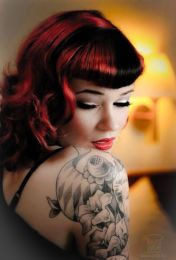 Breathtaking vintage rockabilly hairstyle ideas 61