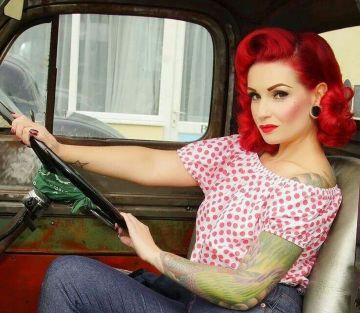 Breathtaking vintage rockabilly hairstyle ideas 64