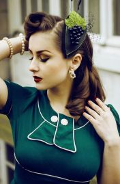 Breathtaking vintage rockabilly hairstyle ideas 65