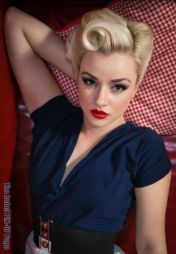 Breathtaking vintage rockabilly hairstyle ideas 69