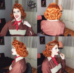 Breathtaking vintage rockabilly hairstyle ideas 70